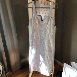 BCBG Lace Midi Dress
